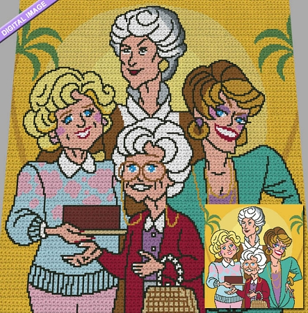 Golden Girls Crochet Pattern