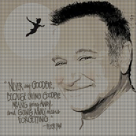 Never Say Goodbye - Robin Williams Crochet Pattern