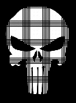 Punisher Skull Crochet Pattern