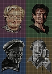 Robin Williams Collage Crochet Pattern