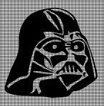 Darth Vader Head Crochet Pattern