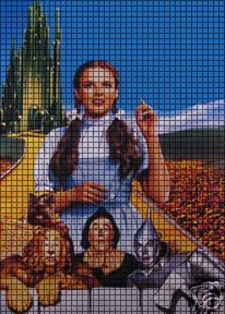 Wizard Of Oz Yellow Brick Road Crochet Pattern