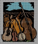 Bluegrass Instruments Crochet Pattern