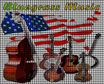 Bluegrass Music America Crochet Pattern