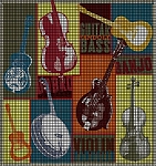 Bluegrass Collage Crochet Pattern