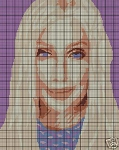 Cher With Blonde Hair Crochet Pattern