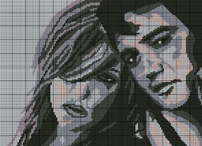 Elvis & Lisa Marie Crochet Pattern