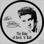 Elvis Round Crochet Pattern