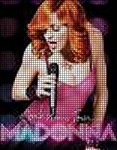 Madonna Microphone Crochet Pattern