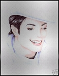 Michael Jackson Portrait Crochet Pattern