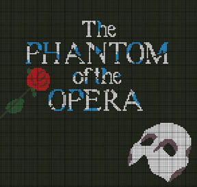 Phantom Of The Opera Crochet Pattern