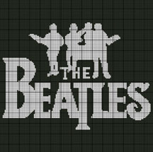 The Beatles Logo Crochet Pattern