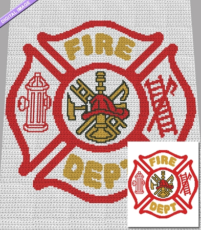 Fire Department Crochet Pattern
