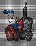 Tractor Driver Crochet Pattern