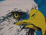Big Eagle Face Crochet Pattern