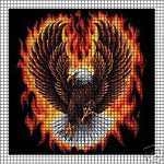 Eagle Flames Crochet Pattern