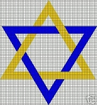 Jewish Star Crochet Pattern