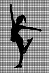 Dance Pose Silhouette Crochet Pattern