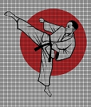 Karate Fighter Crochet Pattern