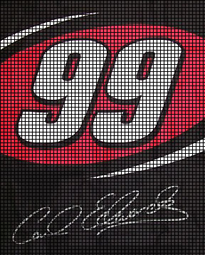 #99 Carl Edwards Crochet Pattern