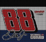 Earnhardt #88 National Guard Crochet Pattern