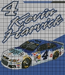 Kevin Harvick Busch Car Crochet Pattern