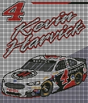 Kevin Harvick JJ's Car Crochet Pattern