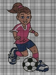 Soccer Girl Crochet Pattern