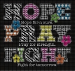 Hope and Pray Crochet Pattern