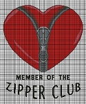 Zipper Club Crochet Pattern