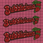 Bubblicious Strawberry Crochet Pattern