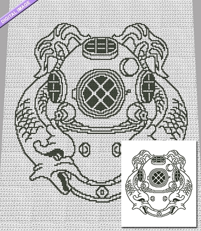 Deep Sea Diver Crochet Pattern