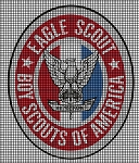 Eagle Scout Badge Crochet Pattern