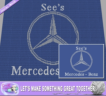 See's Mercedes Benz Crochet Pattern