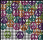 Peace Collage Crochet Pattern