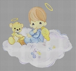 Angel & Baby Bear Crochet Pattern