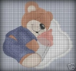 Baby Bear With Bottle Crochet Pattern