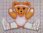 Bear Aerobics Crochet Pattern