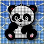 Little Baby Panda Crochet Pattern