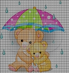 Rainy Day Bears Crochet Pattern