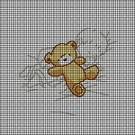 Sleepy Time With Teddy Bear Crochet Pattern