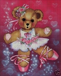 Teddy Bear Ballerina Crochet Pattern