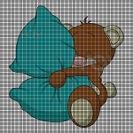 Teddys' Pillow Crochet Pattern