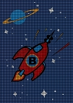 Rocket Ship Crochet Pattern