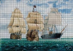 Three Ships At Sea Crochet Pattern