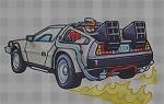 The DeLorean Crochet Pattern