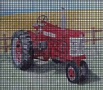 450 Diesel Farmall Crochet Pattern