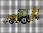 Upscale Backhoe Crochet Pattern