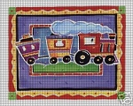 Little Toy Train Crochet Pattern