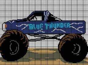 Blue Thunder Crochet Pattern